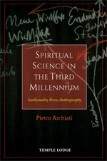 Book Cover for SPIRITUAL SCIENCE IN THE THIRD MILLENNIUM