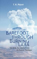 Book Cover for BAREFOOT THROUGH BURNING LAVA